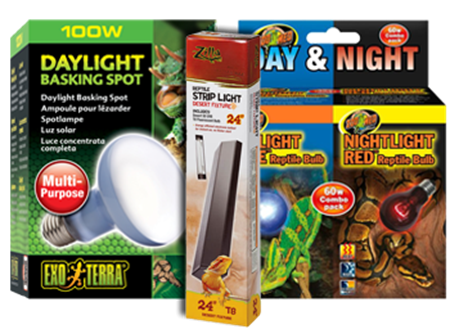 Picture for category Reptile & Amphibian Light Bulbs & Fixtures