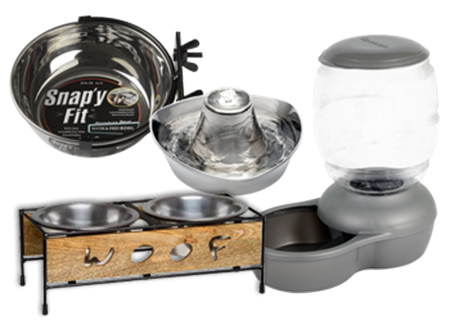 Picture for category Dog Bowls, Waterers and Feeders